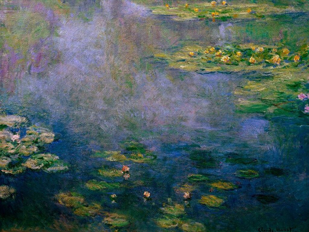 Импрессионизм: ST-ARTI001aWater Lilies by Monet.